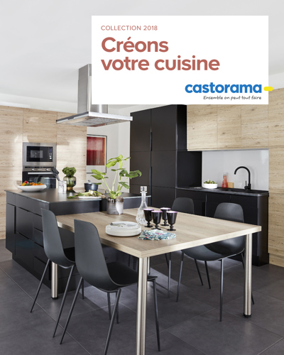 cuisine castorama. Black Bedroom Furniture Sets. Home Design Ideas