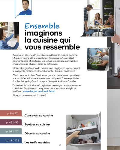 Catalogue Cuisine Castorama
